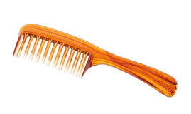 Comb with clipping path. Isolated on white background Stock Image