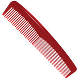Comb different tooth pitch Stock Photo