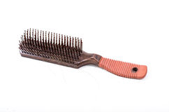 Comb with hair fall Royalty Free Stock Photography
