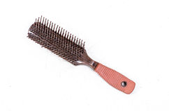 Comb with hair fall Stock Image