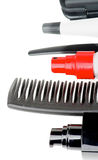 Comb and Hair Styling Products Royalty Free Stock Photo