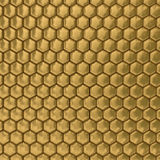 Comb honey. 3D image. Stock Images