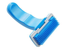 Comb for pet grooming Royalty Free Stock Photos