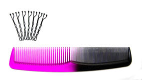 Comb pins Royalty Free Stock Photos