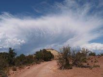 Comb Ridge Clouds Stock Photo
