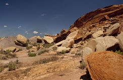 Comb Rigde in Southern Utah royalty free stock photo