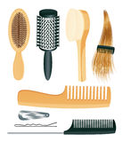 Comb set Royalty Free Stock Photo