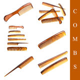 Comb set Stock Image