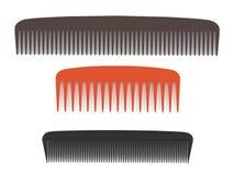 Comb set isolated Stock Photos