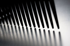 Comb silhouette Royalty Free Stock Photo