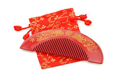 Comb wedding gift Stock Photo