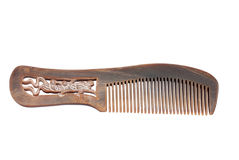Comb. On a white background Stock Photos