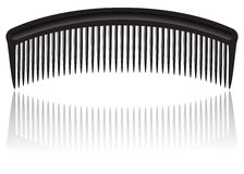 Comb  on white Stock Photos