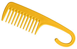 Comb yellow Stock Photos