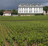 Combanchien Chateau - Champagne Region - France Stock Photos