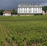 Combanchien Chateau - Champagne Region - France Stock Photos