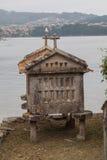 Combarro, Espanha de Poio, Pontevedra, Galiza Fotografia de Stock Royalty Free