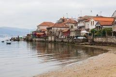 Combarro, Espanha de Poio, Pontevedra, Galiza Imagens de Stock
