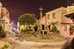 Combarro, Poio, Понтеведра, Галиция Испания Стоковые Изображения RF