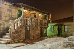 Combarro, Poio, Понтеведра, Галиция Испания Стоковая Фотография