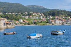 Combarro Pontevedra, Spanien Lizenzfreie Stockbilder