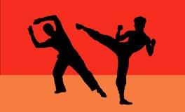 Combat ! Photos libres de droits