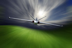 Combat aircraft Royalty Free Stock Photo