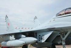 Combat aircraft on the ground Stock Photos