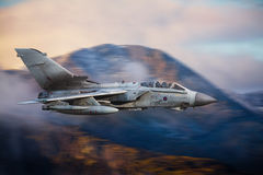 Combat aircraft Tornado. RAF Tornado combat aircraft currently deployed in Iraq in the search for ISIS militants stock photo