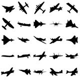 Combat aircraft Royalty Free Stock Image