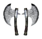 Combat axes Royalty Free Stock Photos