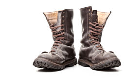 Combat boot Royalty Free Stock Photos