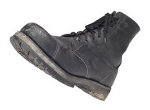 Combat boot Royalty Free Stock Image
