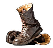 Combat boots Stock Photography