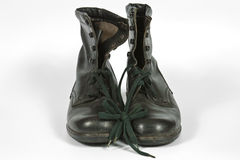 Combat boots Royalty Free Stock Photo