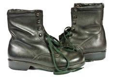 Combat boots Stock Photos