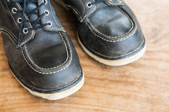 Combat boots Royalty Free Stock Image