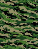 Combat camouflage. Camouflage series in traditional swampy green and beige Stock Photos