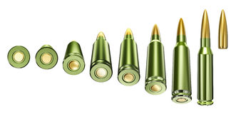 Combat cartridge Royalty Free Stock Images
