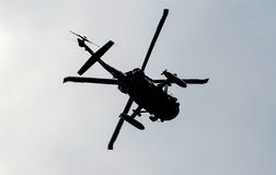 Combat chopper Royalty Free Stock Photo