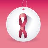 Combat contre la campagne de cancer du sein Image libre de droits