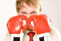Combat d'affaires Images stock