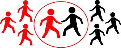 Combat d'affaires Image libre de droits