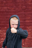 Combat d'enfants Images libres de droits
