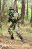 Combat d'entraînement militaire Photo stock