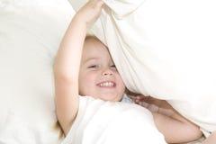 Combat d'oreiller ! Images libres de droits