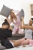 Combat d'oreiller Photographie stock libre de droits