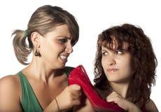 Combat de chaussure Images stock