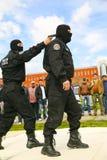 Combat demonstration Stock Photo