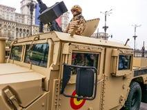 Combat desert vehicle Royalty Free Stock Images
